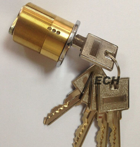 Hecho en China Hardware American Brass Cylinder Lock